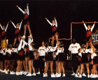 The Best Cheerleading Stunt Position is